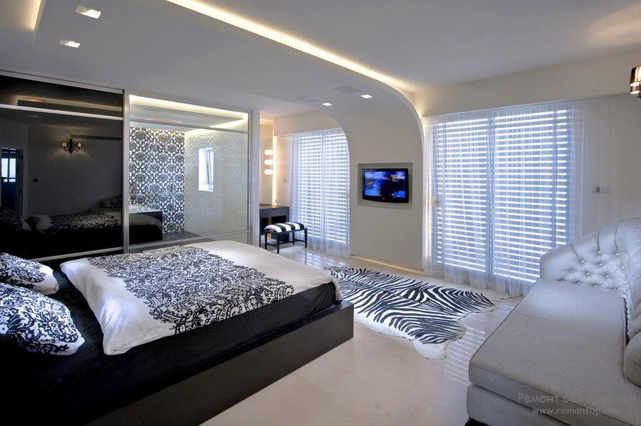 Гипсокартон в интерьере квартиры