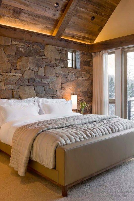 Камень в спальне