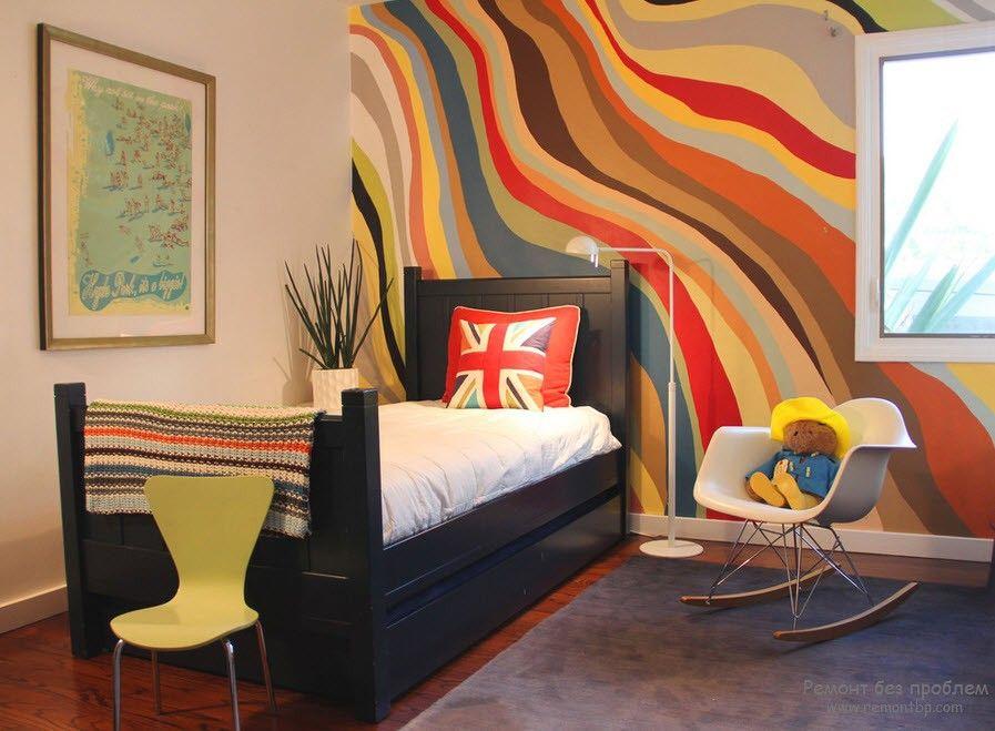 Покраска фото стен