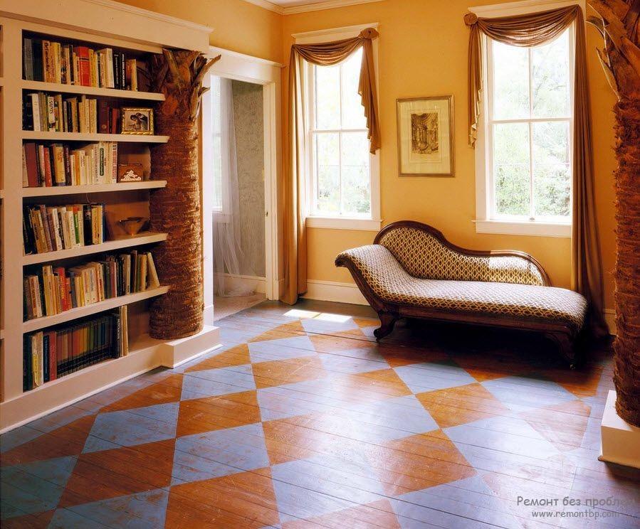 Дизайн покраски стен