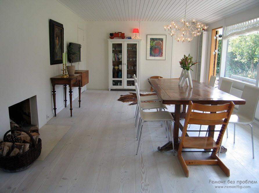 Ламинат в квартире дизайн интерьера