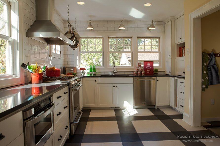 Кухонный линолеум