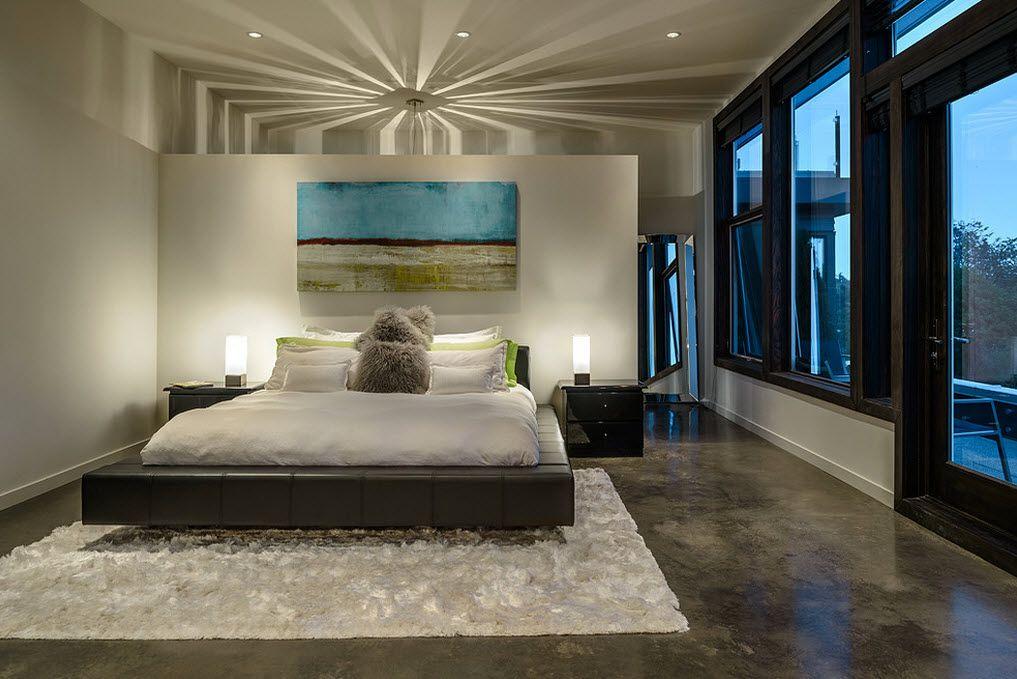 Наливные полы в спальне