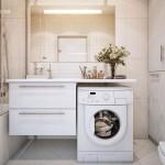 Ванная с стиральной машиной фото