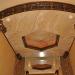 Потолок венецианская штукатурка
