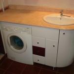 Ванная с стиральной машикой фото