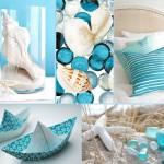 Бирюзовый цвет в морском стиле