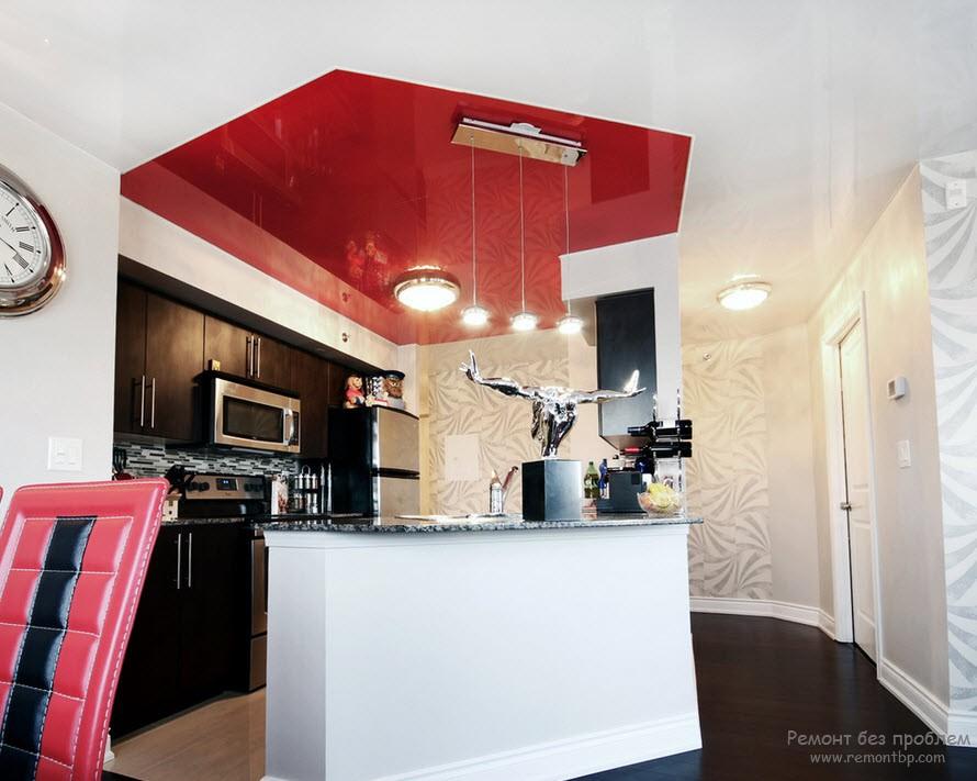 Возможности натяжных потолков, Стильная и современная отделка потолка