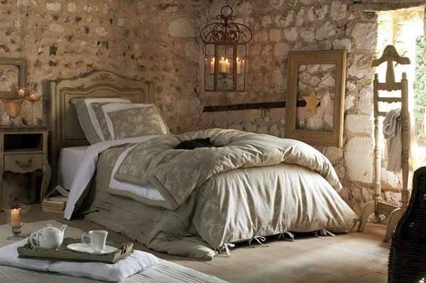 Спальная комната в стиле прованс фото
