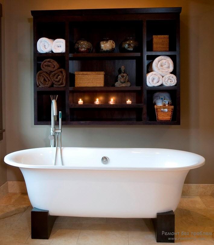 Полки для ванных комнат своими руками фото