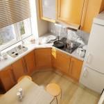 Кухни 6 кв м фото