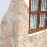 Гибкая керамика при внешней отделке