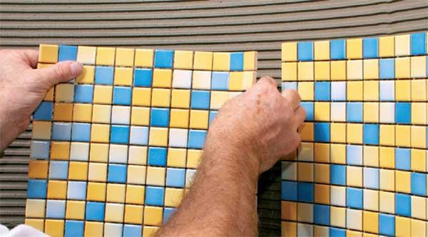 плитка мозаика фото укладка инструкция