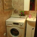 Где расположить стиральную машину фото