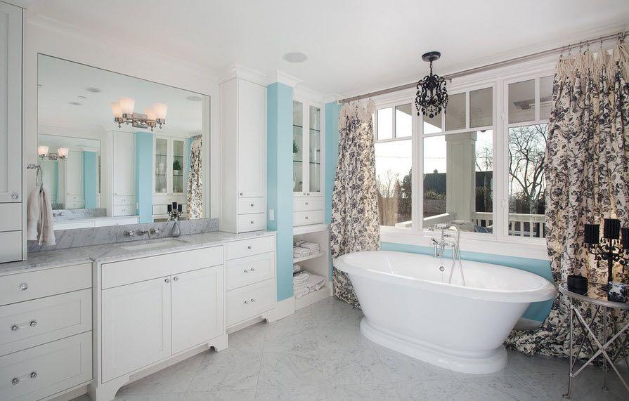 Линолеум в ванной
