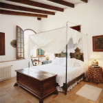Спальня в стиле бунгало