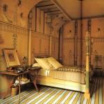 Спальная комната в египетском стиле