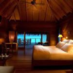 Комната в стиле бунгало