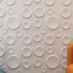 Круглая фактура 3D панели фото