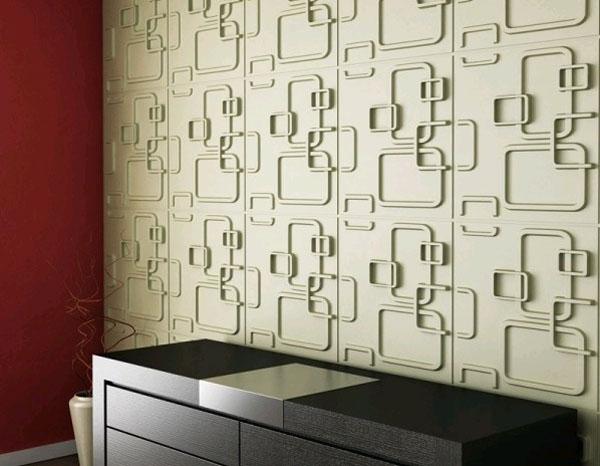 Гипсовые панели для стен в интерьере фото