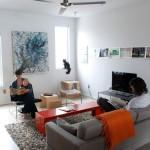 Мебель в гостиной на фото