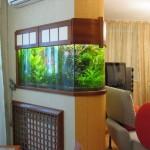 Как вписать аквариум в интерьер