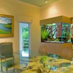 Аквариум в интерьере квартиры, Вид и место для аквариума в доме