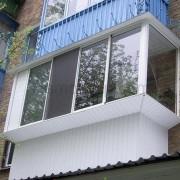 Балкон с выносом пример