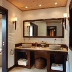 Ванная в стиле бунгало
