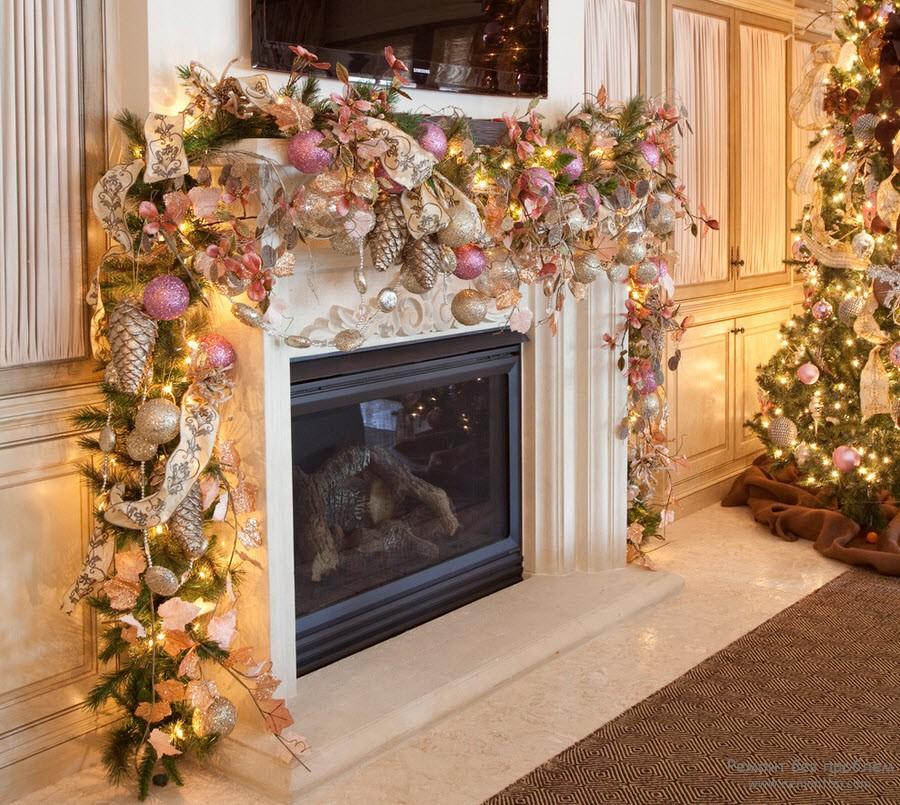 Новогоднее украшение квартиры фото