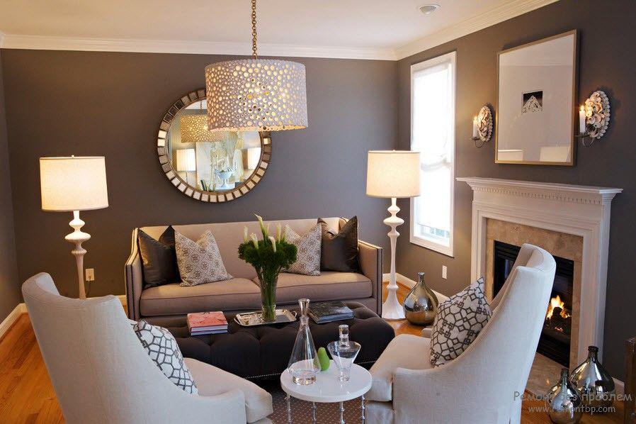 Идеи освещения гостиной