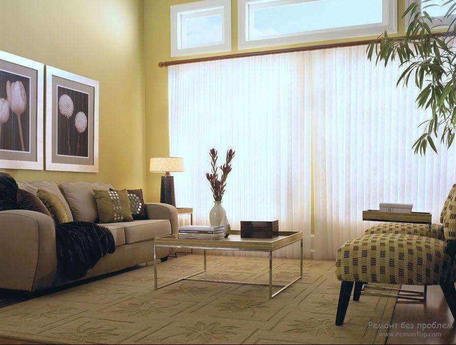 Вертикальные жалюзи фото в интерьере комнаты