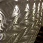 Рельефные панели с подсвесткой