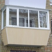 Балкон с выносом пример на фото и описание