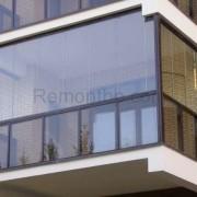 Безрамное остекление балкона фото и описание