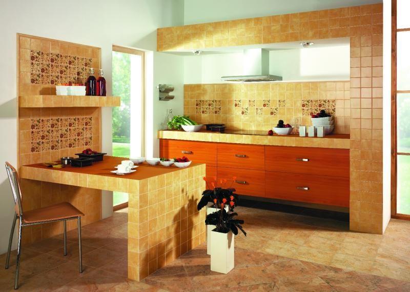 Кухонная мебель из плитки своими руками 31