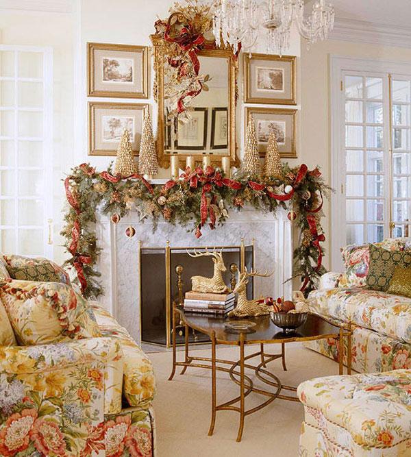 Украсим квартиру к новому году своими руками фото
