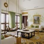 Гостиная в египетском стиле