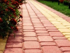 Тротуарная плитка для двора