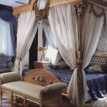 Спальня в стиле ампир
