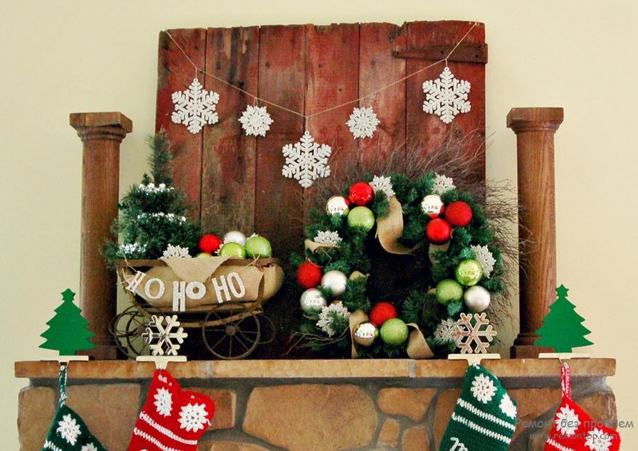 Как украсить квартиру на новый год в интерьере