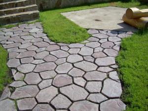 Тротуарная плитка в интерьере дачи