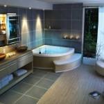 Красивый интерьер в ванной