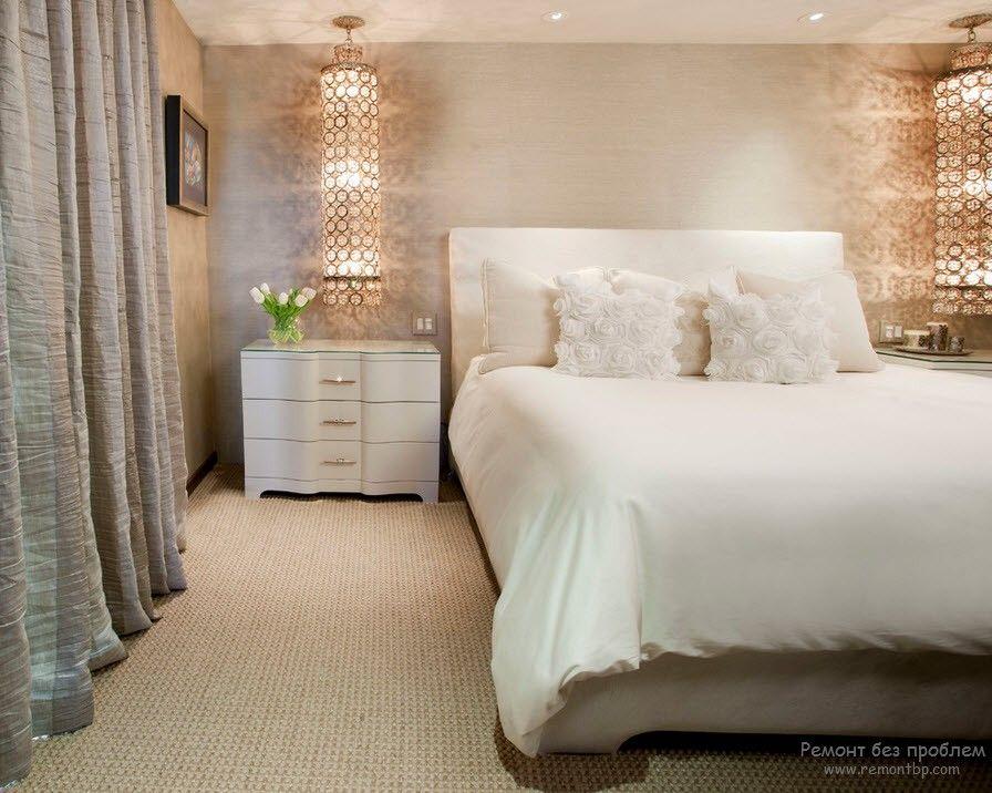 Как правильно осветить спальню