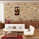 Декоративная отделка стен искусственным камнем