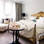 Современная спальня в стиле ампир