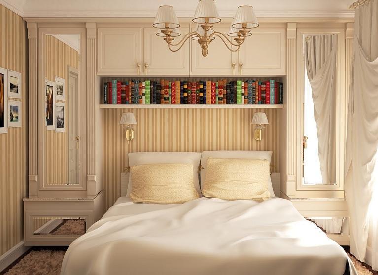 Ремонт спальни 9 квМ