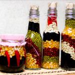 Как сделать декоративные бутылки для кухни?