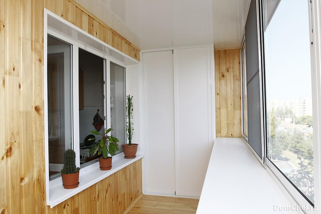 Ремонт балкона и лоджии - mirelit.