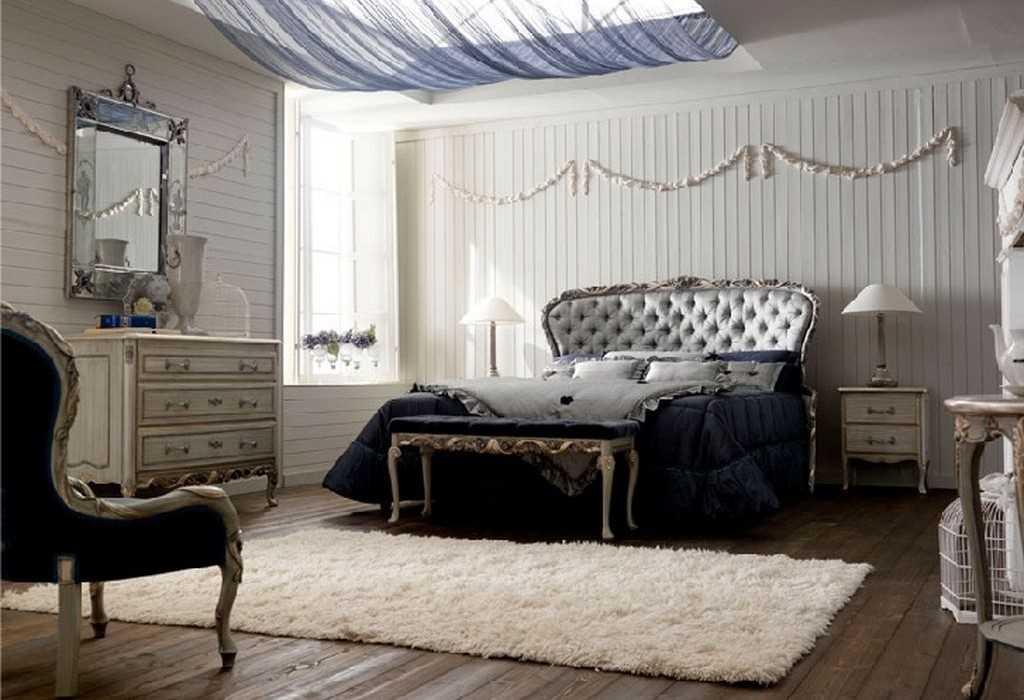 Дизайн спальной комнаты Италия